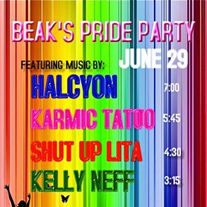 Beak's VIP Pride Block Party---$125
