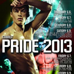 Pride Weekend at Cobalt