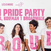 BE PROUD | WOMEN'S MAIN PRIDE PARTY 8.6