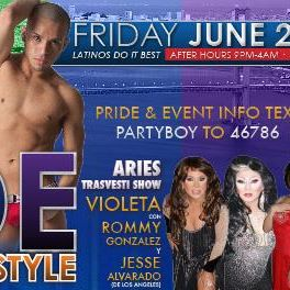 Pride - Latin Explosion Kick Off Party