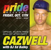 PRIDE at Jungle Atlanta **Official PRIDE Kickoff After Party with CAZWELL and DJ Ed Bailey**