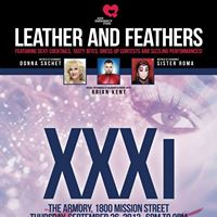 TONIGHT! AIDS Emergency Fund Turns 31: XXXi LEATHER and FEATHERS