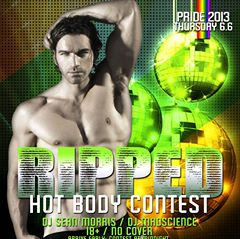Pride Hot Body Contest (18+) COBALT