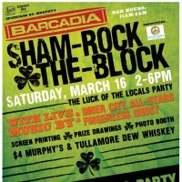 Luck of the Locals Present: Sham-Rock-The-Block // St. Patrick's Day 3.16.13 // Live Music by Finger