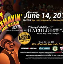Pride Theater Night Out - Ain't Misbehavin'