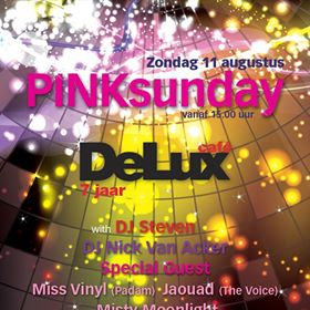 Pink Sunday 7 years @DeLux