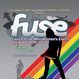 FUSE - Capital Pride Main Women's Event