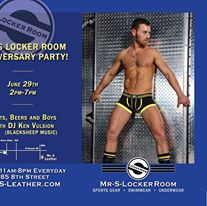 Mr. S Locker Room Anniversary Party