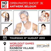 Open Photo Shoot at worldOutgames in ANTWERP, BELGIUM