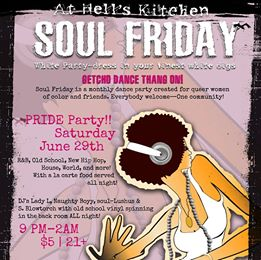 2nd Annual PRIDE Soul Friday on SATURDAY!!! White Party.