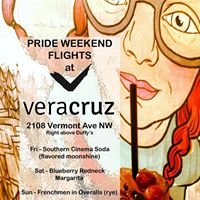 Pride Weekend Flights @ VeraCruz Bar & Mural Gallery