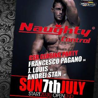 Naughty Control: Pride Closing Party