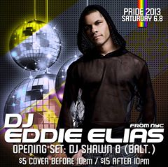 Pride Saturday: Eddie Elias at Cobalt
