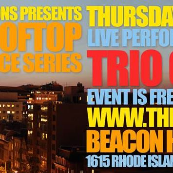 TRIO CALIENTE live at Sunset Rooftop Performance Series
