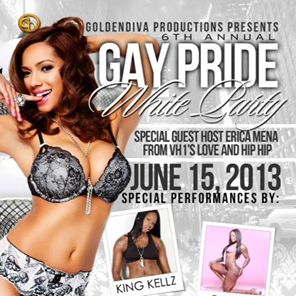 GoldenDiva Productions Presents our 6th Annual White Party - Pride Weekend