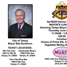 Annual GaYBOR Mayor's Luncheon @ Hamburger Mary's