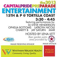 2013 Capital Pride Pre-Parade Entertainment