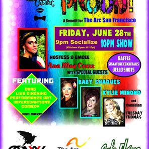 POSTPONED - Coxxx Cabaret:PROUD - POSTPONED