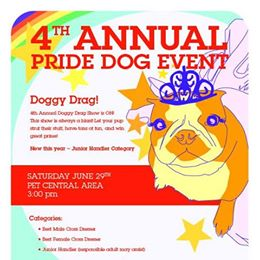 Doggy Drag Show!