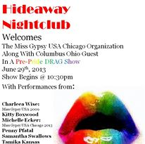 Miss Gypsy USA Chicago Pre-Pride Drag Show