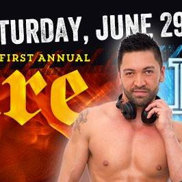 FIRE & ICE SATURDAY PRIDE BLOCK PARTY @ LUSH