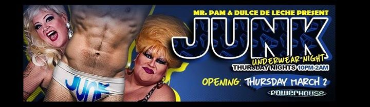 Event Junk Underwear Party Mr Pam Dulce De Leche Dj Rolo Details And Who S Attending