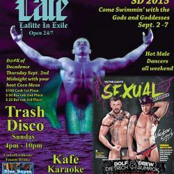 Trash Disco @ Cafe Lafitte