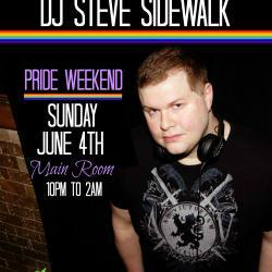 DJ STEVE SIDEWALK @ PARADISE