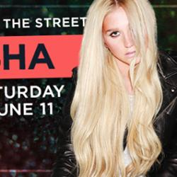 KESHA at Pride in the Street
