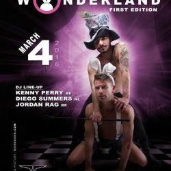Wonderland - gay pride Antwerp 2016