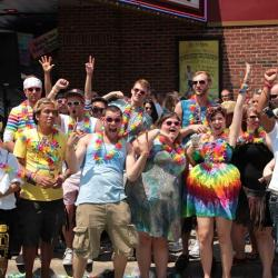 Ashley Rukes GLBT Pride Parade