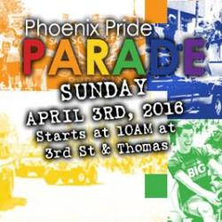 Phoenix Pride Parade 2016 presented by Bank of America