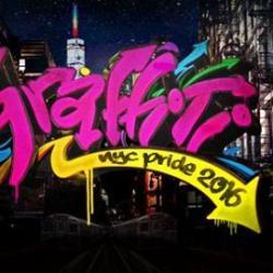 NYC Pride: WE Party Graffiti