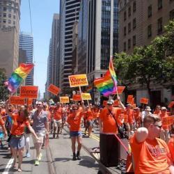 San Francisco Pride Parade with Scott Wiener