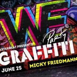 NYC Pride 2016: WE Party Graffiti