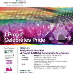 Philly Pride Shabbat Dinner