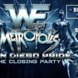 WE Party: Metropolis | San Diego Pride Closing Party