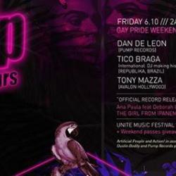 Tonight! PUMP Afterhours with DJ's Dan De Leon, Tico Braga & Tonny Mazza | Los Angeles Pride