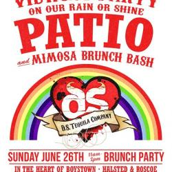 SOLD OUT! D.S. Tequila's Annual Pride Patio Brunch Bash!