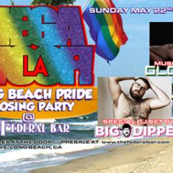MEGAWOOF LA, Long Beach Pride Closing Party at The Federal Bar
