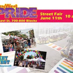 Key West Pride Street Fair!