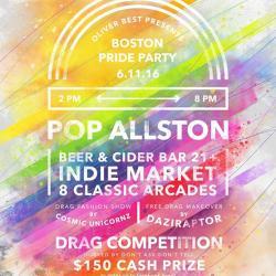 Boston LGBT Pride Party + Market