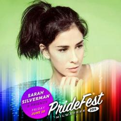 Sarah Silverman at PrideFest Milwaukee