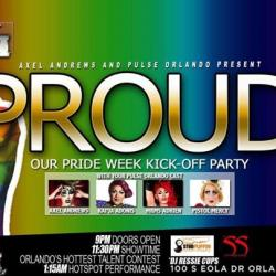 Proud: Pride Week Kick-off
