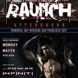 The Official 2017 OMW Pre-Party at Raunch Afterhours SF