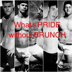 It's not PRIDE without BRUNCH