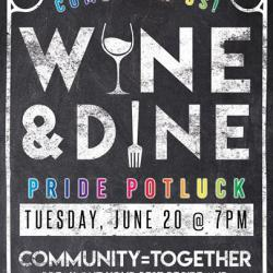 Pride Pot Luck and Show