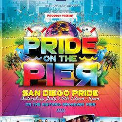 Pride on the Pier San Diego Pride SaturDAY!