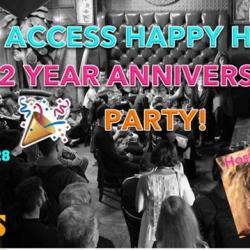 Tomorrow! Access Happy Hour: 2 Year Anniversary!