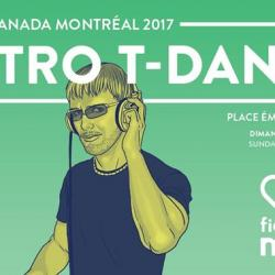Fierté Canada Montréal 2017- Rétro T-Dance